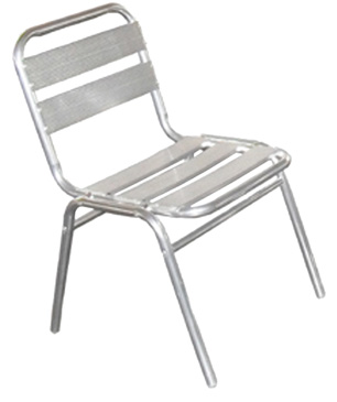 0231 Chaise Alu Empilable