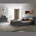 EQUINOXE LIT COFFRE +COMMODE   GRIS ANT