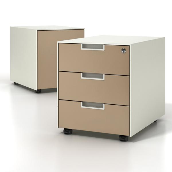 caisson de bureau modulaire qbuc ets carayon. Black Bedroom Furniture Sets. Home Design Ideas