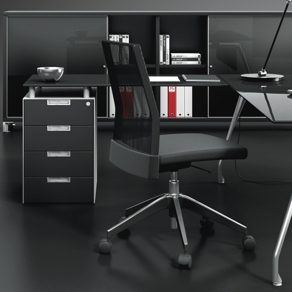 caisson de bureau modulaire qbuc ets carayon. Black Bedroom Furniture Sets. Home Design Ideas