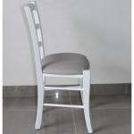 Chaise N°15 ASSISE TEXTILE ENDUIT PROFIL