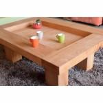 TABLE BASSE FENG SHUI DETAIL