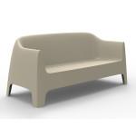 solid sofa écru